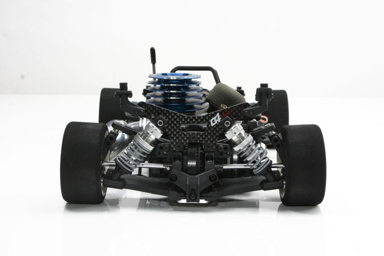 Team Magic G4RS 1/10 Nitro Touring Car-Demonte Kit