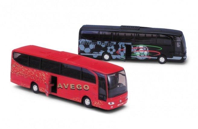 Welly Mercedes Benz Travego Die Cast Metal Otobus Maketi Okmodel