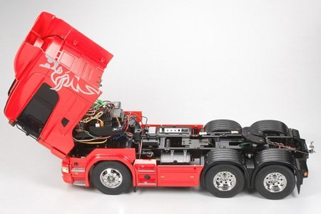 Tamiya 1/14 Scania R-620 6x4 Highline (Demonte)