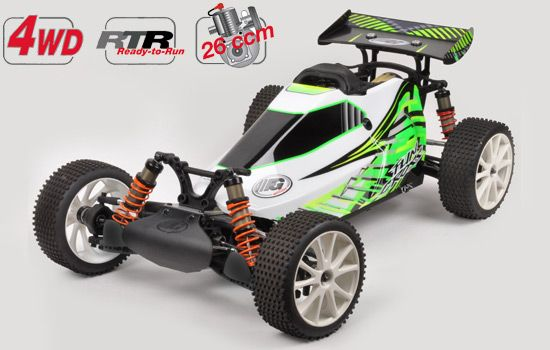 FG Modellsport Fun Cross 4WD WB535 1/6 Off-Road Araba // JR DSX3 Kumanda İle