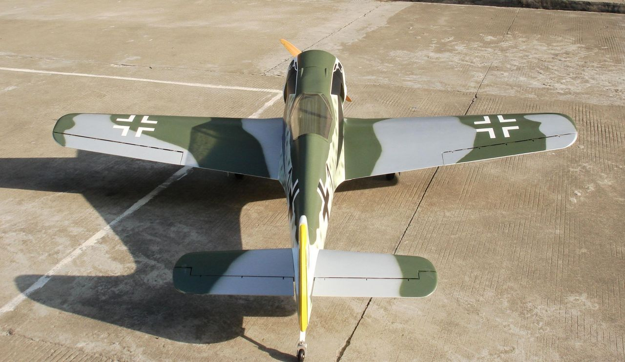CY Model FW 190 40-90cc Benzinli ARF Uçak-Retrackler Dahil