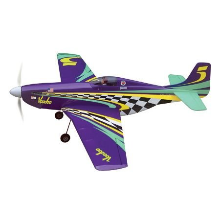 The World Models Voodoo Mustang EP ARF Uçak (Outrunner Brushless Motor Dahil)