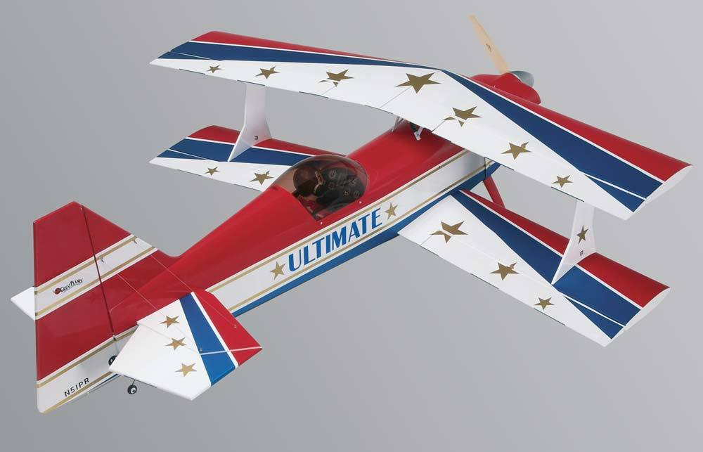 Great Planes Ultimate Biplane 3D 1.60 ARF