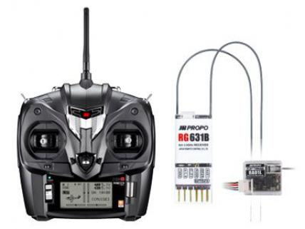 JR Propo XG6 6 Channel Transmitter & receiver  (Telemetry)
