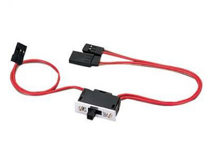 JR Propo Switch Harness 'C' (Small Sized w/Charging Cable)