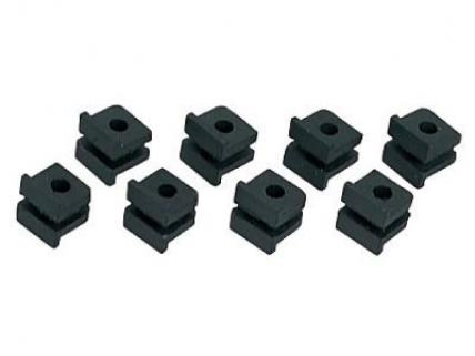 JR Propo Absorber Rubber for Standard Servo (8pcs)