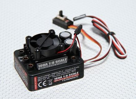 Turnigy 160A Brushless ESC 1/8 Scale (Max 4S Lipo)