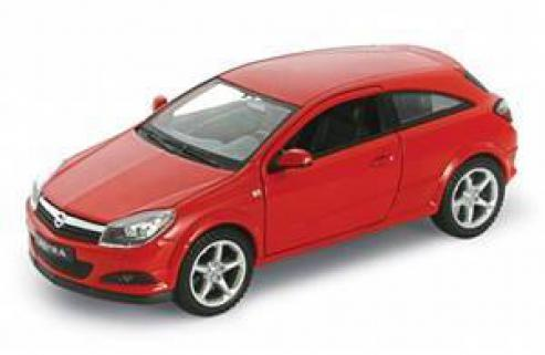 Welly 1/24 Opel Astra 2005 GTC Die-Cast Metal Araba Maketi