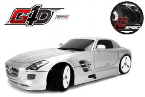 Team Magic G4D SLS 1/10 Yarış Arabası. (2 vites) Mercedes SLS
