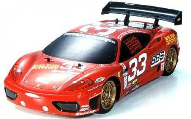 1/10 Ferrari 360GT Daytona Version Nitro Engine