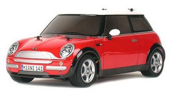 Tamiya Mini Cooper 1/10 Car Kit M-03L Chassis (Demonte)