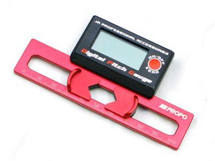 JR Propo Digital Pitch Gauge