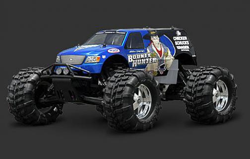 HPI Bounty Hunter 4x4 Body-Boyasız
