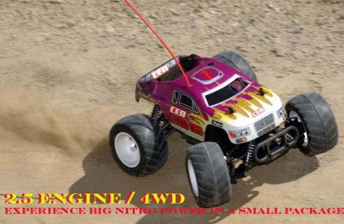 CEN MG16-MT 1/16 Nitrolu 4x4 RTR