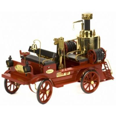 Wilesco steam engine fire car