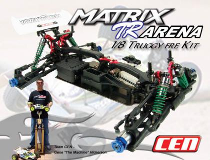 Cen Matrix TR Arena Kit  - Factory Race Edition - Demonte