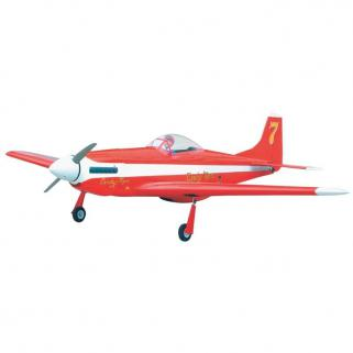 The World Models P-51 Mustang 46 (Red) ARF Uçak