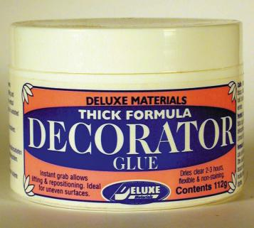 Deluxe Decorator Glue 112g
