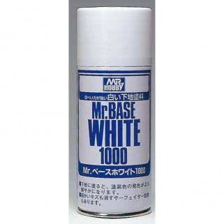 Gunze Mr.Base White 1000 // Sprey Astar 180ml