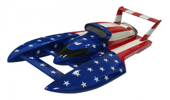 Vantex Hydro Formula 800BP (Stars & Stripes) 80cm Brushless Tekne