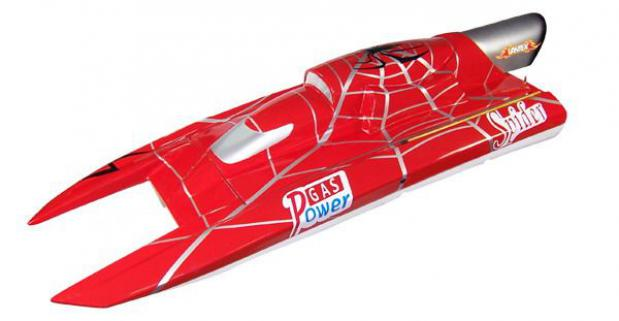 Vantex Super Yacht 900BP (Red Spider) 90cm Brushless Tekne