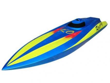 Vantex Flame Racing 800BP (Blue,Yellow) 80cm Brushless Tekne
