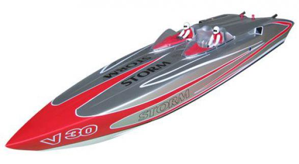 Vantex Storm 910BP (Silver,Red) 90cm Brushless Tekne