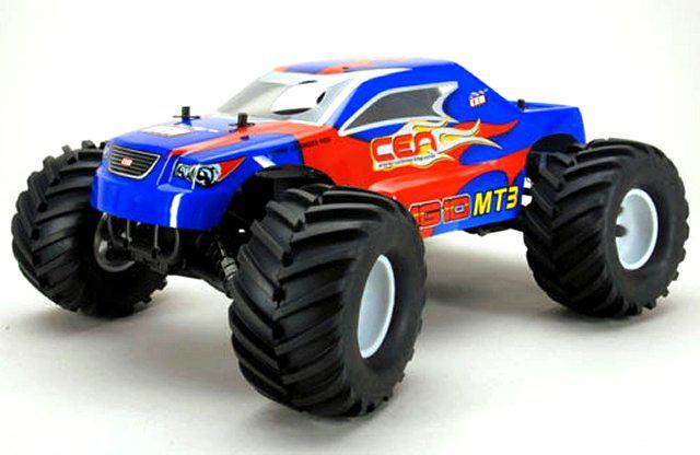 CEN MG10-MT3 1/10 Nitrolu 4x4 RTR w/2.4Ghz Kumanda