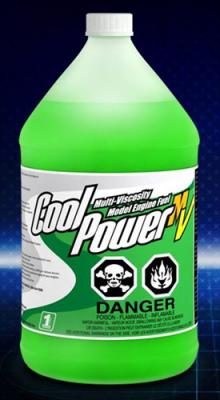 Cool Power Uçak Yakıtı %15 Multi Viskosite MV Nitro Full Sentetik 1 galon / 3,80 Litre