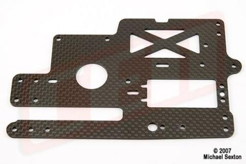 CEN Graphite Upper Deck (CT-4R) (Upgrade for CT10A)