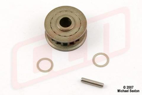 CEN Alum. Pulley 17T (Upgrade for MX044)