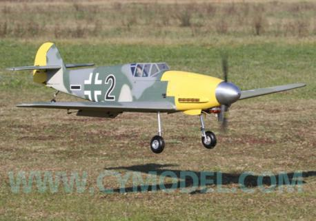 CY Model ME-109 Benzinli ARF Uçak-Retrackler Dahil