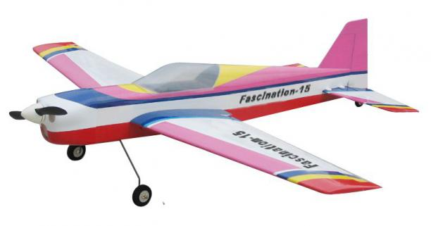 CY Model Fascination 15 Nitro/Elektrikli ARF Uçak