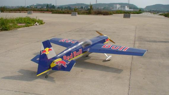 CY Model Edge 540 50-80cc Benzinli ARF Uçak-Red Bull