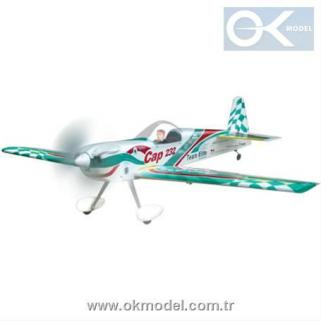 The World Models Cap 232 EP ARF Uçak (Outrunner Brushless Motor Dahil)