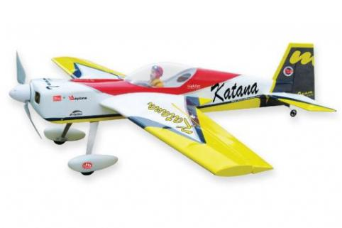 The World Models Katana EP ARF Uçak (Outrunner Brushless Motor Dahil)