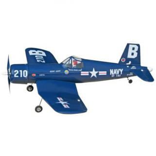 The World Models F4U Corsair EP ARF Uçak (Outrunner Brushless Motor Dahil)