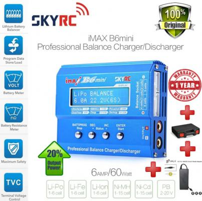 SKYRC B6 Mini 6S Li-Po Battery Charger (V2)