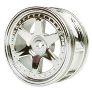Wheels-Touring (6 Spokes) -Silver