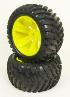 CEN Monster Truck Wheel Set (Pair)