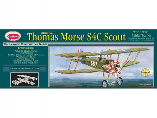 201LC 1/14 THOMAS MORSE SCOUT MODEL KİT - LASER CUT
