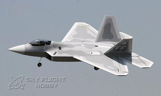 LXHM F-22 Raptor RTF 70mm Fan Motorlu Uçak