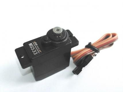Henge MS533 Analog Servo (Long Cord)