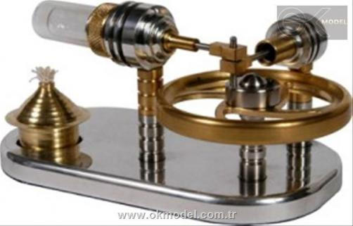 Stirling Engine Horizantal SE-03