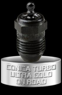 Novarossi NV-C6TGH Conical Turbo Ultra Gold Buji-1 Adet
