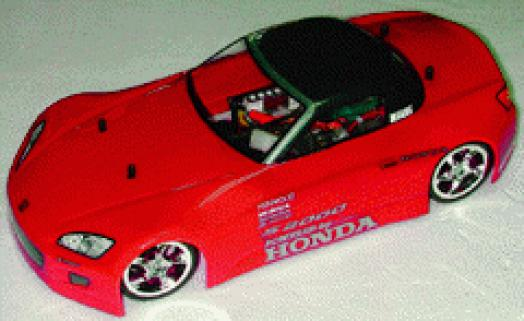 Colt Honda S2000 1/10 Body-Boyalı 200mm