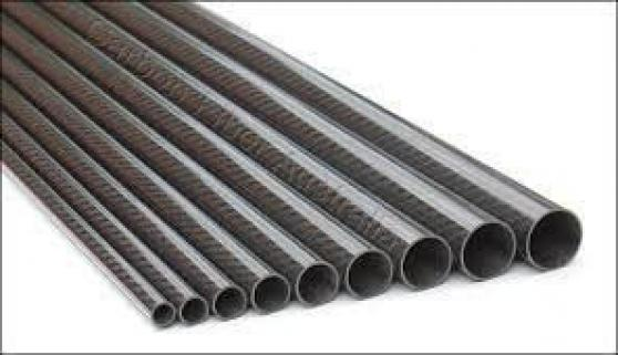 Carbon round tube 22 x 20 x 1000mm