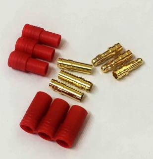3.5mm 3 wire Bullet-connector for motor