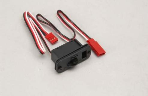 Ripmax Switch Harness w/Charging Socket (Futaba) // On-Off Anahtarı