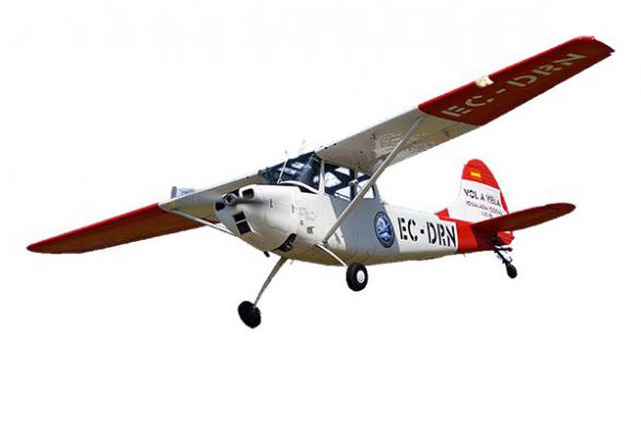 CY Model Cessna Bird Dog 26-33cc Benzinli ARF Uçak Kiti